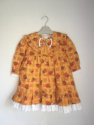 Ninos Baby Girls Vintage Spanish Style Dress 18-24 Months