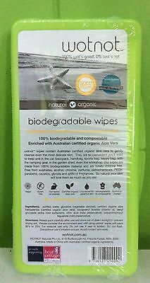 Wotnot Baby Wipes - 20 Hard Case Travel Pack - 100% Biodegradable | Wot Not