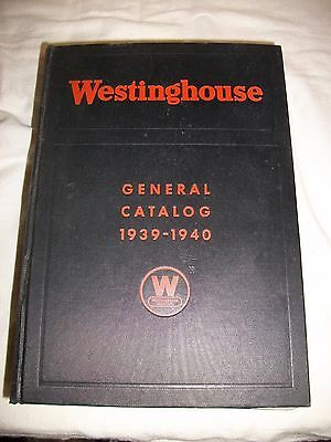 Antique Westinghouse Electric General Catalog 1939-1940 Meter Box Book