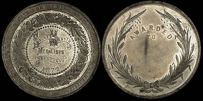 AUSTRALIA 1872 Opening of the Victorian Exhibition medal..