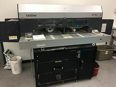 Brother GT-782 Direct T-Shirt/Garment Printing Machine, GT-7820 w/ Oven/Dryer