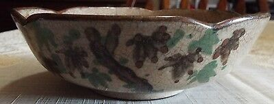 Antique Asian Handpainted Unmarked Bowl