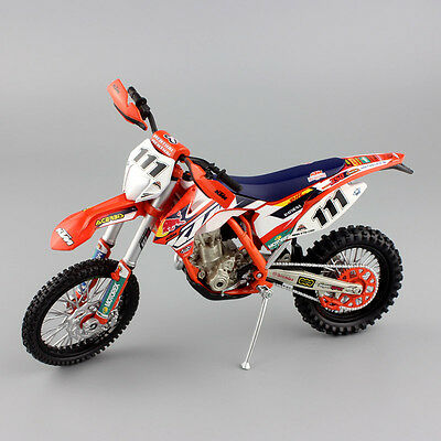 1:12 scale KTM EXC350 EXC F 350 REDBULL Race No.111 TEDDY DIRT Motorcycle model