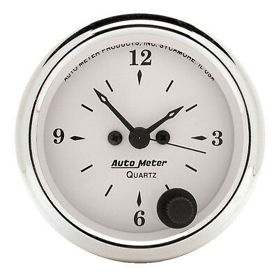 AutoMeter 1686 Old Tyme White Clock