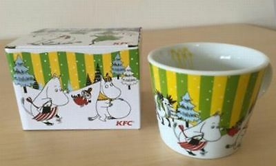 Moomin Mug Tea Cup Limited Edition Sold at ONLY KFC Japan VERY RARE !! F/S
