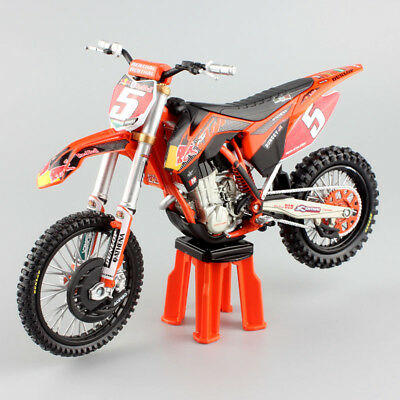 1:12 scale KTM SXF 450 redbull No.5 Ryan Dungey Motorcycle Motocross model toys