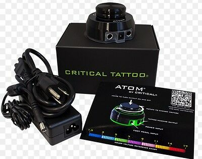 Critical Atom Tattoo Power Supply