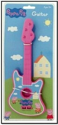 Pink Peppa Pig Guitar - 4 String Guitar - (HL178). Shipping Included