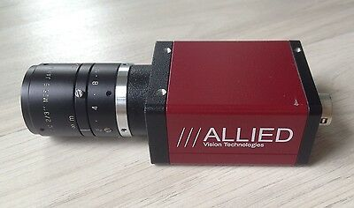 ALLIED VISION | MARLIN F-145C2 KAMERA | inkl. Objektiv 35mm | Machine Vision TOP