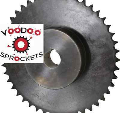 """40B45 G&G, 1/2 Inch Pitch, Chain Size 40, Finished Bore Sprocket, 1"""" Bore"""
