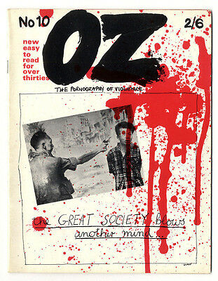 OZ magazine No 10. (March 1968) The Pornography of Violence issue Vietnam War
