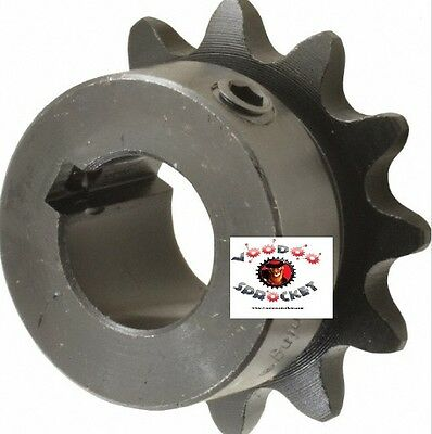 35B12 G&G, 3/8 Inch Pitch, Chain Size 35, Finished Bore Sprocket 1/2 Bore