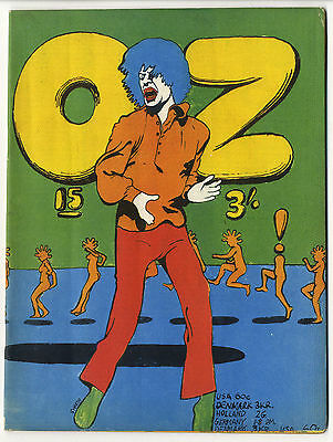 OZ Magazine No 15 (October 1968) Martin Sharp Rolling Stones 'Mick Jagger' cover