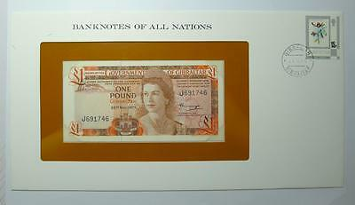 Banknotes of All Nations Gibraltar 1 pound
