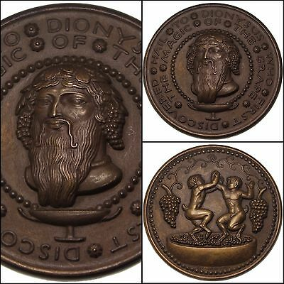 100126 | Society Of Medalists 1930 Hail To Dionysus Bronze Medal Paul Manship