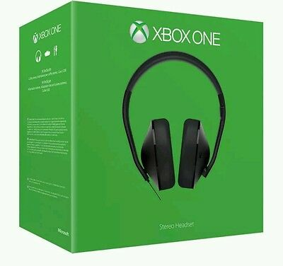 Xbox One Stereo Gaming Headset Microsoft