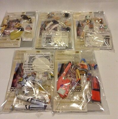 MACROSS (Robotech) CM'S Collection Ver. Part 2.  Set Of 5 Rare  (Clear Hair)