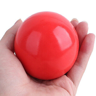 Indestructible Solid Rubber Ball Pet cat Dog Training Chews Play Fetch Bite EC