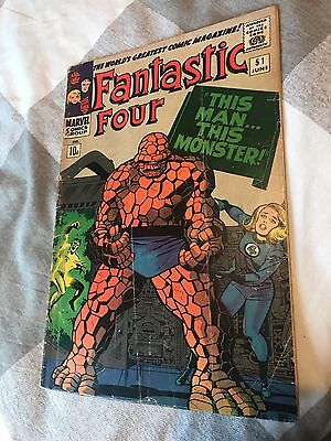 Fantastic Four # 51 This Man-This Monster !  scarce book !!