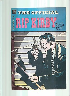 The Official Rip Kirby #1  Alex Raymond  Pioneer  1988  Nice!!!