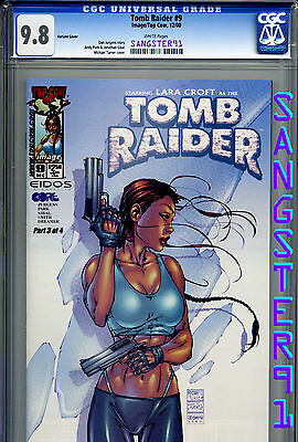 Tomb Raider #9 (CGC 9.8) Variant by Michael Turner - HTF RARE COVER!!