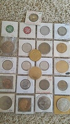 Lot of 23 wyoming good for tokens/metals