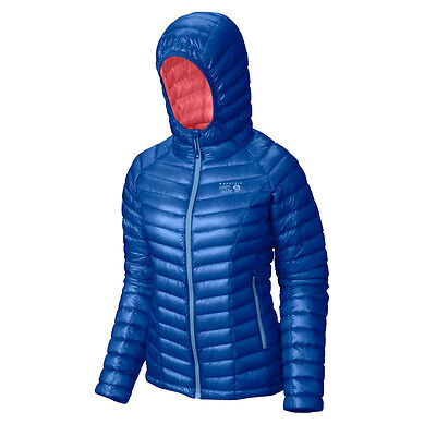 Mountain Hardwear Ghost Whisperer Women's Down Hooded Jacket M - L RRP£249.99