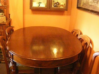 Edwardian Oval Dining Table