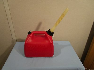 Rubbermaid Essence 1 Gallon 5 Ounce Pre Ban Vented Gas Can Model 1216