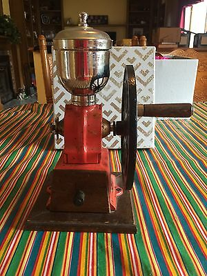 Antique Coffee Grinder Cast Iron Free Shipping