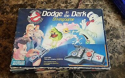 Real Ghostbusters Dodge in the Dark Driving Projector Game 1986 1987 Original