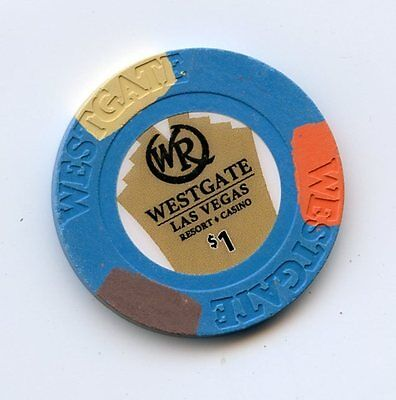 1.00 Chip from the Westgate Casino in Las Vegas Nevada