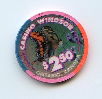 2.50 Chip from the Casino Windsor in Ontario Canada