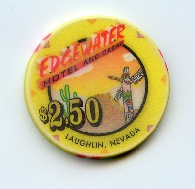 2.50 Chip from the Edgewater Casino in Laughlin Nevada
