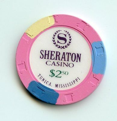 2.50 Chip from the Sheraton Casino in Tunica Mississippi