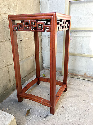 Antique Chinese Huanghuali Table Stand Republic Period
