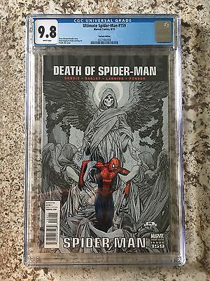 Ultimate Spider-Man 159 Cho Variant CGC 9.8 Death Of