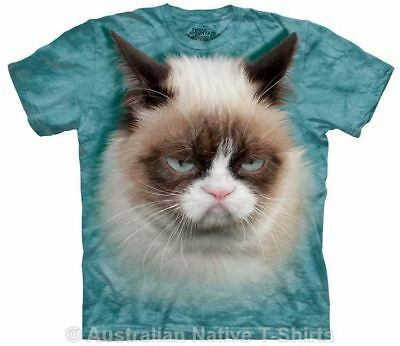 Grumpy Cat Adults Jade T-Shirt - Licensed Grumpy Cat Merch by The Mountain