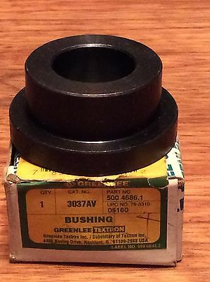 Greenlee 3037AV Replacement Bushing; 3-1/2 Inch. NEW IN THE BOX.