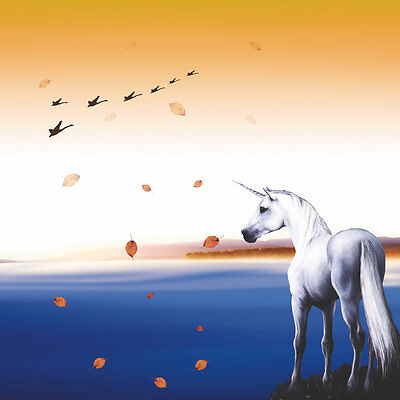 Modern Home wall art Decor Horse unicorn painting picture Printed on canvas r044
