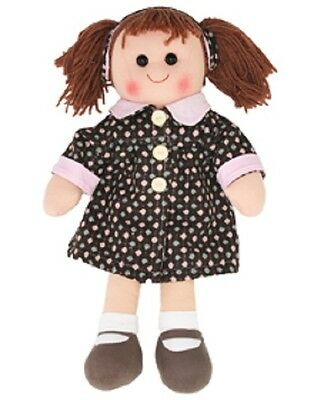 New Hopscotch Childs Toy Rag doll woollen hair soft body outfit ragdoll Zoe