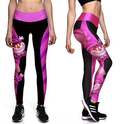 Women YOGA Workout Gym Sports Pants Leggings Casual Fitness Stretch Trousers NEW