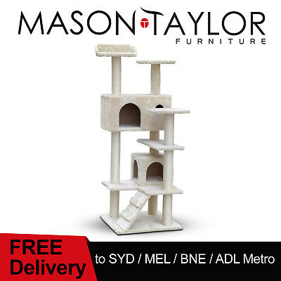 Mason Taylor Multi Level Cat Tree Scratching Post Scratcher Pole Gym House Condo