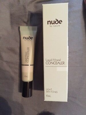 Nude By Nature Liquid Mineral Concealer in Fair