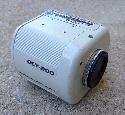 Olympus Camera OLY-200 with Cap/Cover 12 VDC