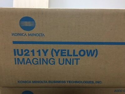 Konica Minolta IU211Y yellow imaging unit
