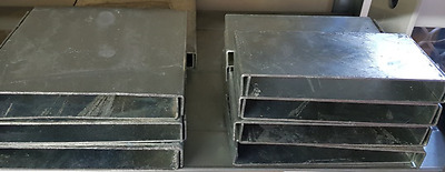 Retaining Wall Post Caps 150H - Hot Dip Galvanised