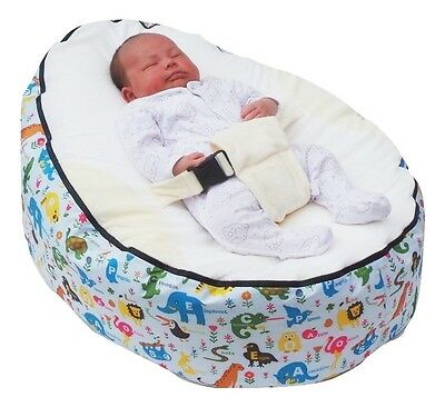 Animal print Baby Bean Bag with Filling-UK Seller