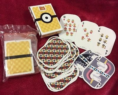 McDonald's Minion toys 2017 Australian Australia Despicable Me 3 New Cards Deck
