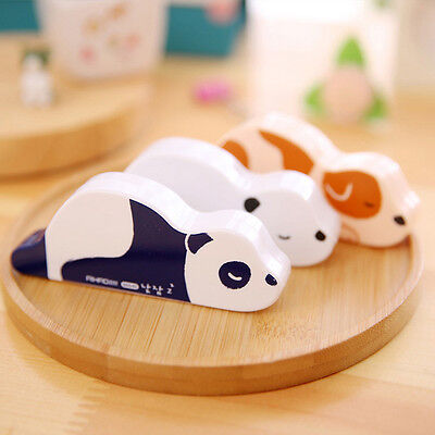 1x Animals Roller Correction Tape White Out School Office Supply Stationery